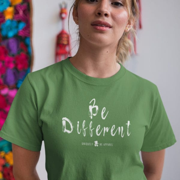 Uniquely Me Apparel Be Different Tee