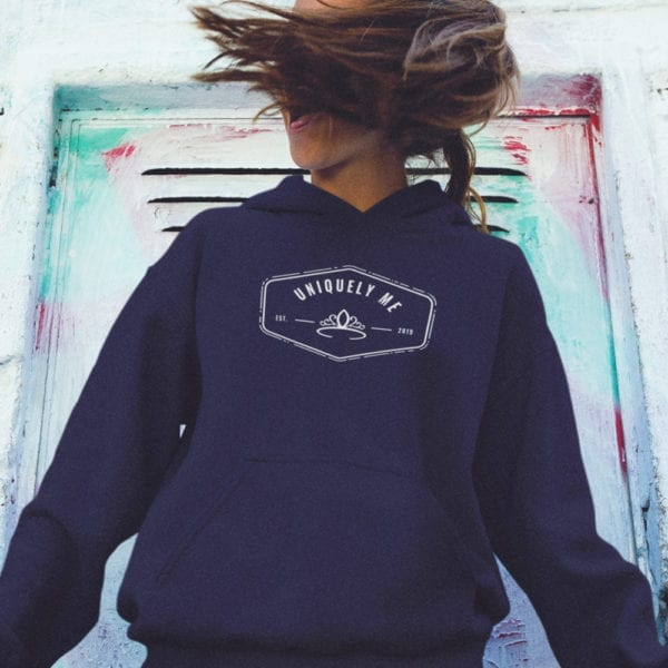 Uniquely Me Princess Pull Over Hoodie