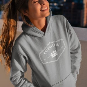 Uniquely Me Queen Pull Over Hoodie