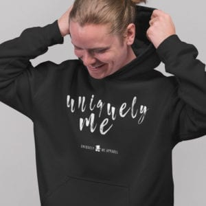 Be Uniquely Me Pull Over Hoodie